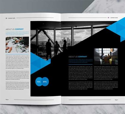 Abstract Corporate Brochure Template