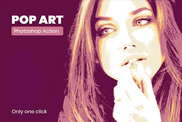 Art Hope Poster Photoshop Action