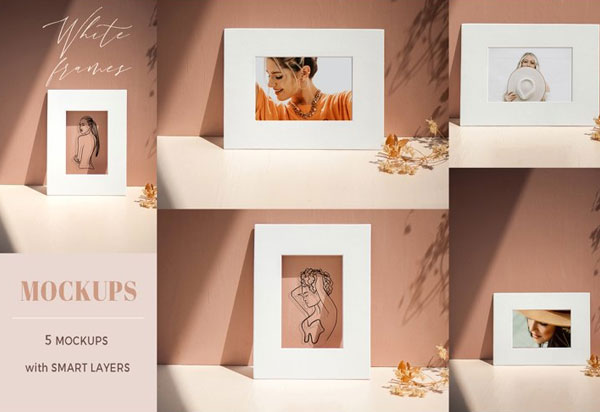 Beautiful Painting Frame Mockups