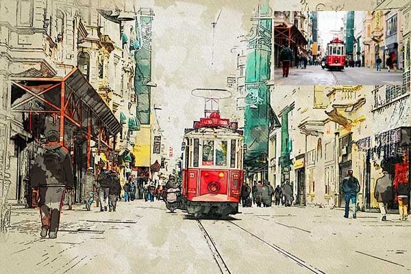 Best Urban Sketcher Photoshop Action