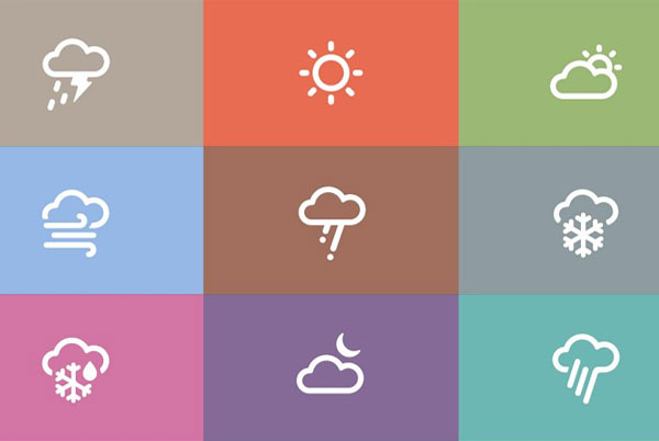 Best Weather Icons Set