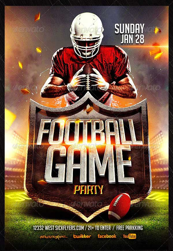 Best Football Flyer Template