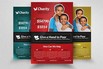 Charity Solution Flyer Template