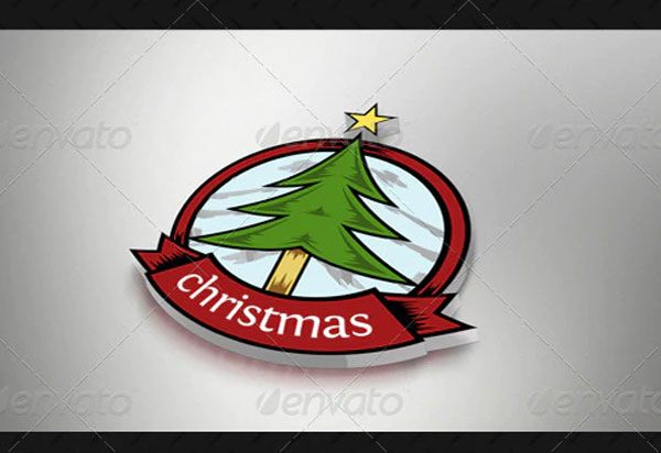 Christmas Logo Template