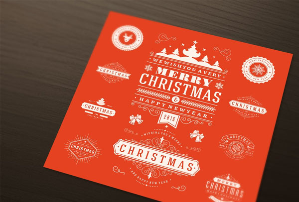 Christmas Logos and Badges
