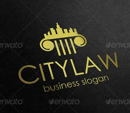 City Law Logo Firm Design Templates