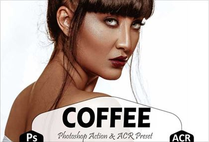 Coffee Photoshop Actions