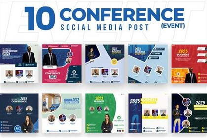 Conference Event Social Media Banners