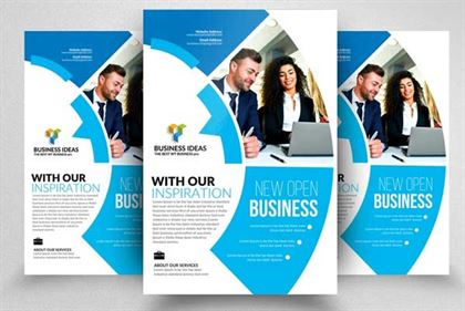 Consulting Solution Flyer Editable Template