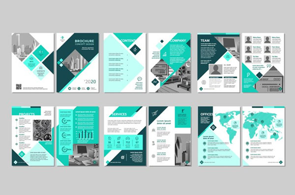 Creative Recruiting Agency Brochure Template