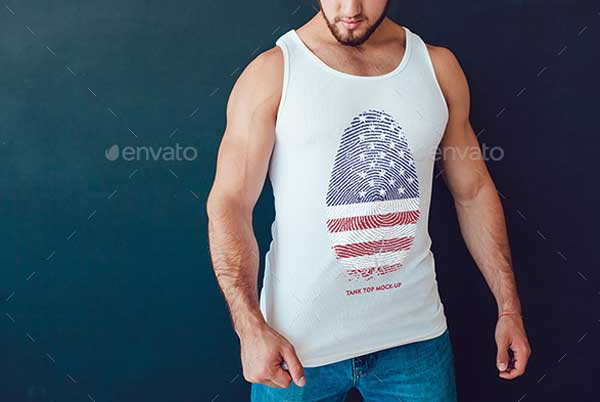 Creative Tank Top Mock-Up