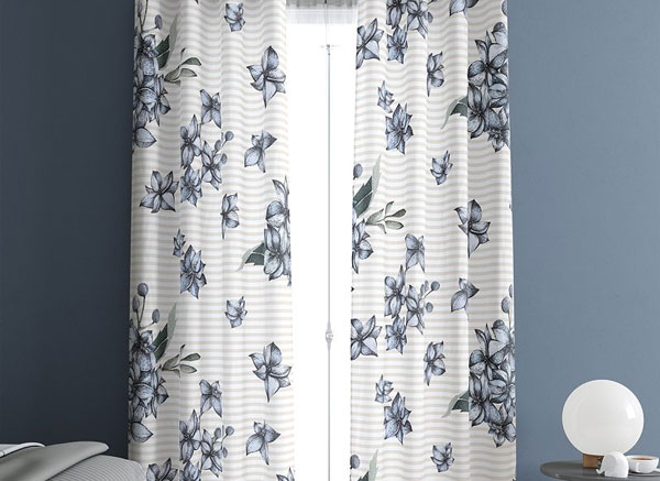 Curtains Set PSD Mockup