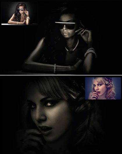 Dark Light Master Photoshop Action