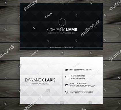 Diamond Business Card