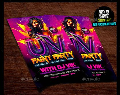 Download Paint Party Flyer