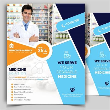 Download Pharmacy Flyer Template