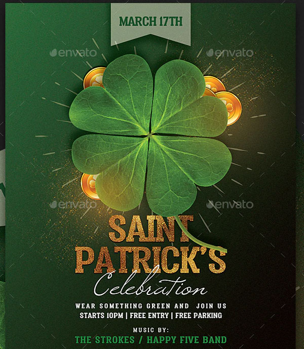 Download St. Patricks Day Flyer