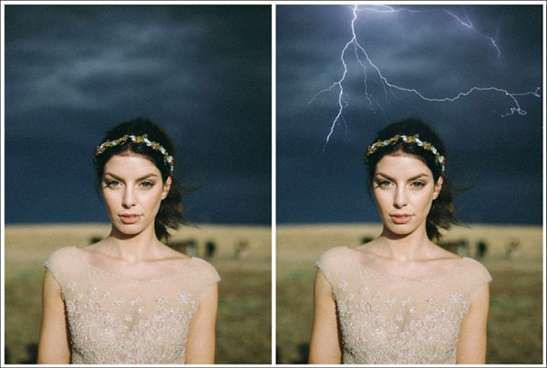 Download Electrical Lightning Photoshop Action