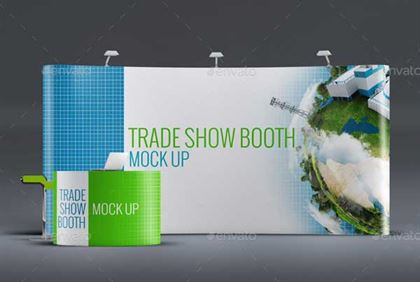 Easy Editing Trade Show PSD Mockup