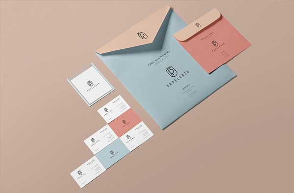 Envelope Mockup Free PSD Template
