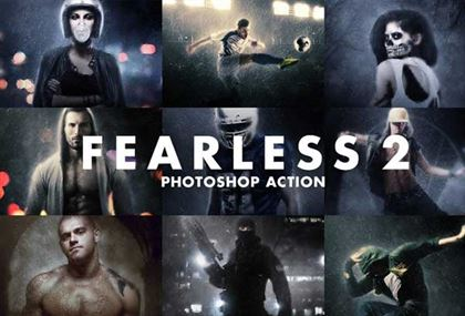 Fearless PSD Action Templates