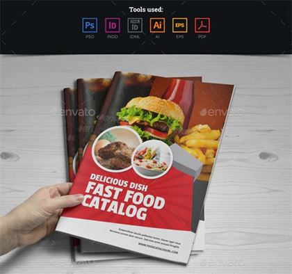 Food Menu Restaurants Brochure Design