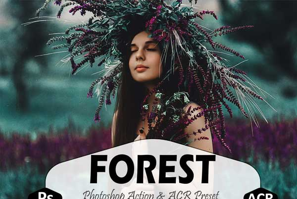 Forest Photoshop Actions