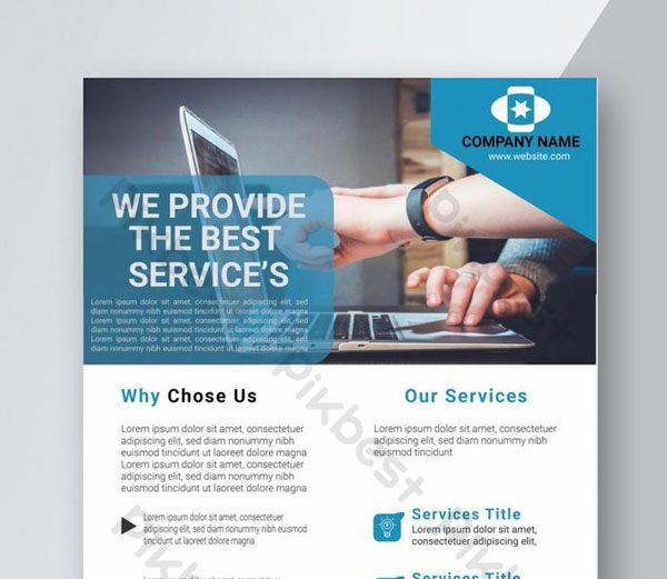Free Business Solution Flyer Template