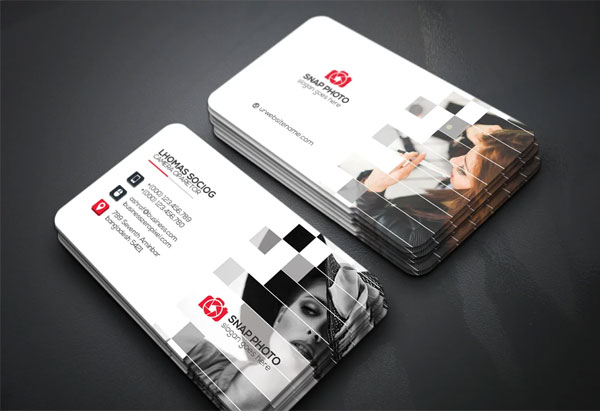 Free Photography Business Cards
