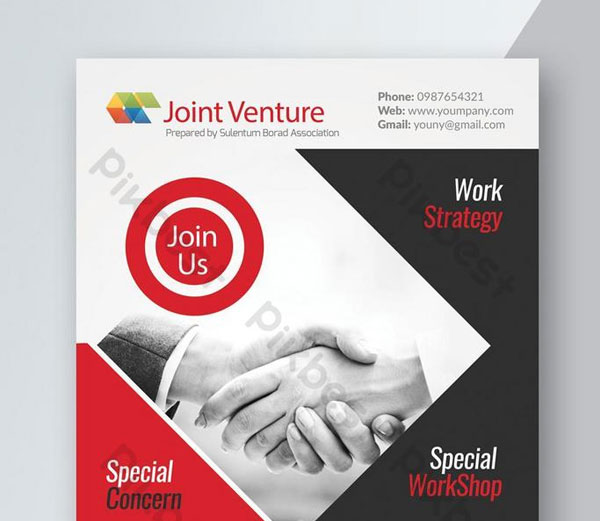 Free Providing Business Solution Corporate Flyer