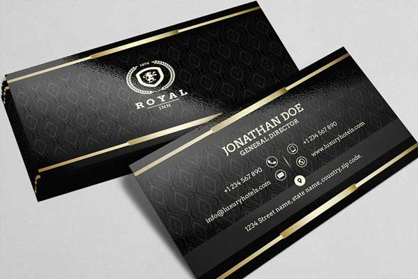 General Director of Black Business Card