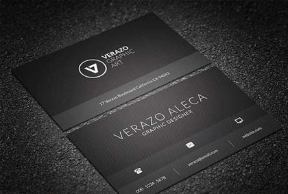 Graphic Art Business Card Template