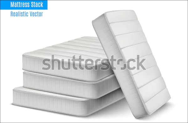 High Quality Sleeping Mattresses Mockup