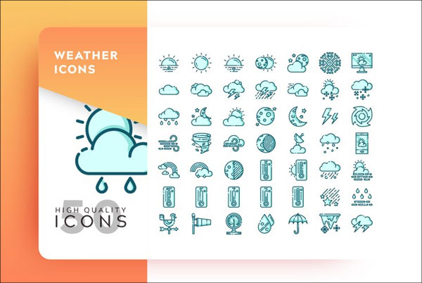 High Quality Weather Icons