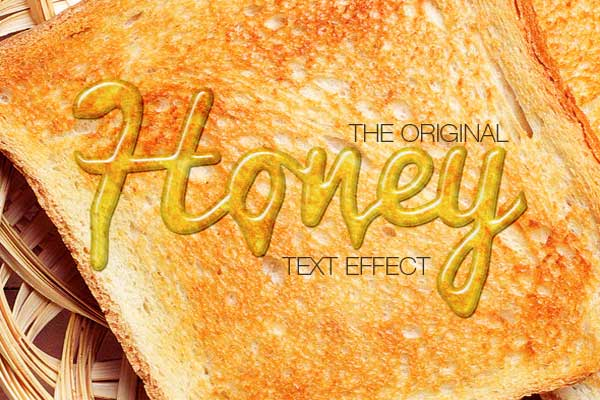 Honey Text Effects
