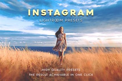 Instagram  DNG, TIFF, PSD, JPG, RAW Lightroom Presets