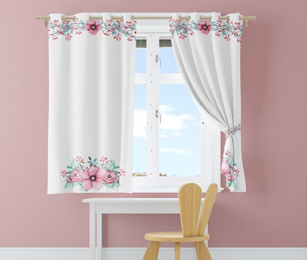 Kids Room - Curtains & Wall Set