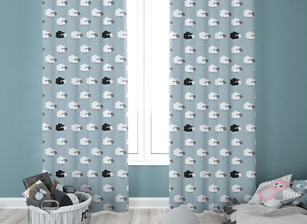 Kids Room Curtains Set