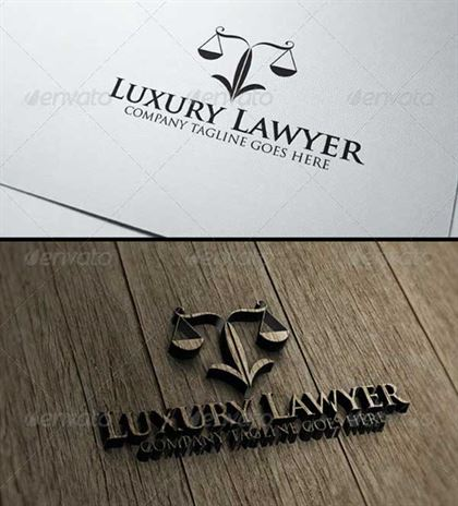 Lawyer Logo Designs Template