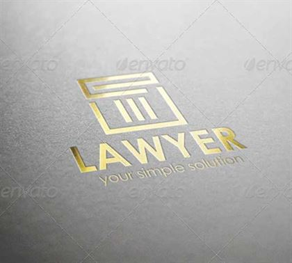 Lawyer Justice Firm Logo Designs
