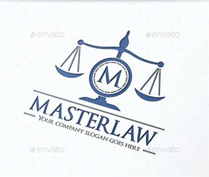 Lawyer Letter Logo Designs Templates
