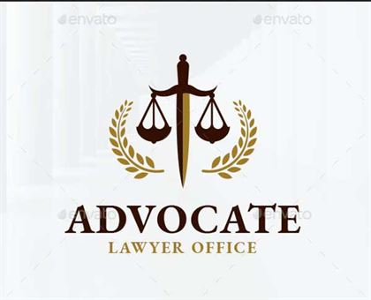 Lawyer Office Logo Template