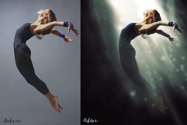 Light Effect - Photoshop Action
