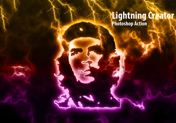 Lightning Light Effects Photoshop Actions