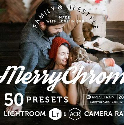 Merrychrome Lightroom Presets Templates