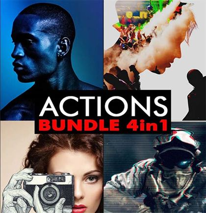 Movie Poster Actions Bundle