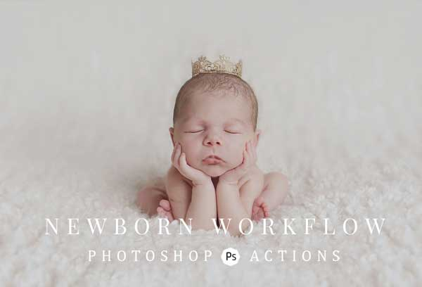 Newborn Photoshop Action