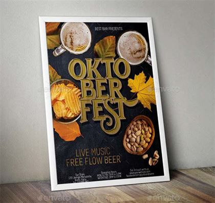 Oktoberfest Poster and Flyer Templates