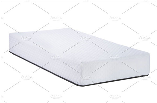 Orthopedic Soft Mattress Mockup