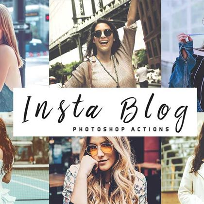 Pastel Insta Blog Photoshop Actions